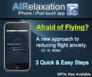Get rid of flight anxiety and fear of flying with this iphone and ipod app