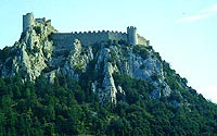 Cathar Castle in Southern France