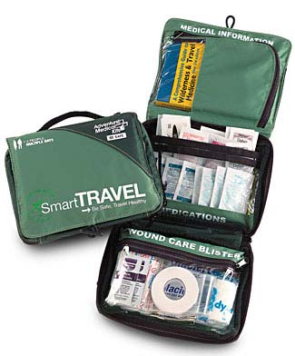 Healthy Traveler First Aid Kit Compact