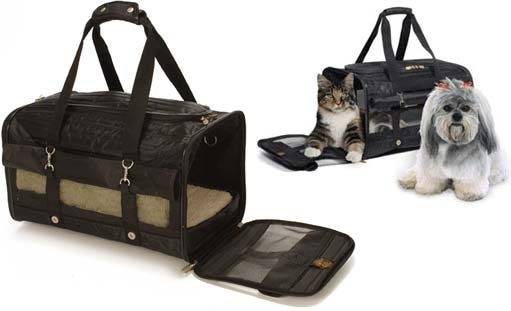 Sherpa Pet Airline Carryon Carrier Tote For Cats Or Small Dogs