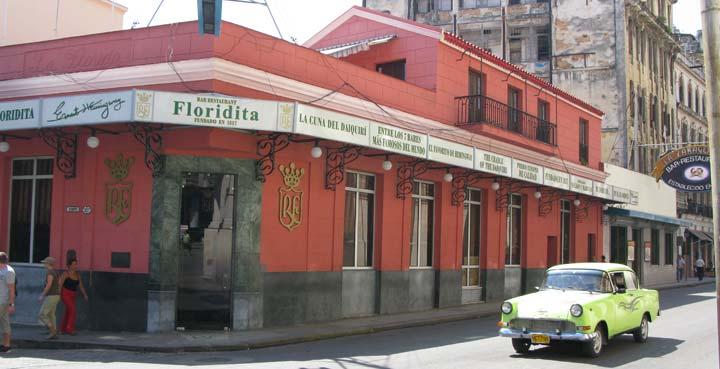 Floridita Bar Hemingway Havana Cuba