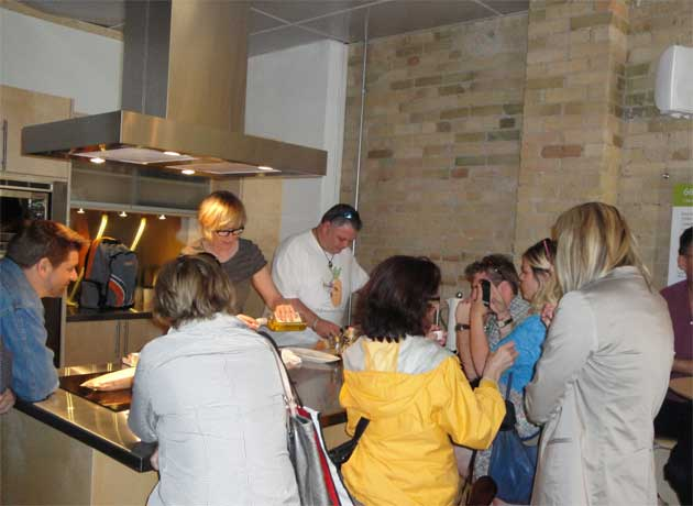 Culinary Adventure Company founder Scott Savoie food tour Leslieville Toronto walking tour
