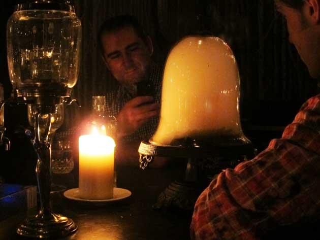 Vanilla Hickory Smoked Manhattan - Molecular Mixology Cocktail at Barchef in Toronto
