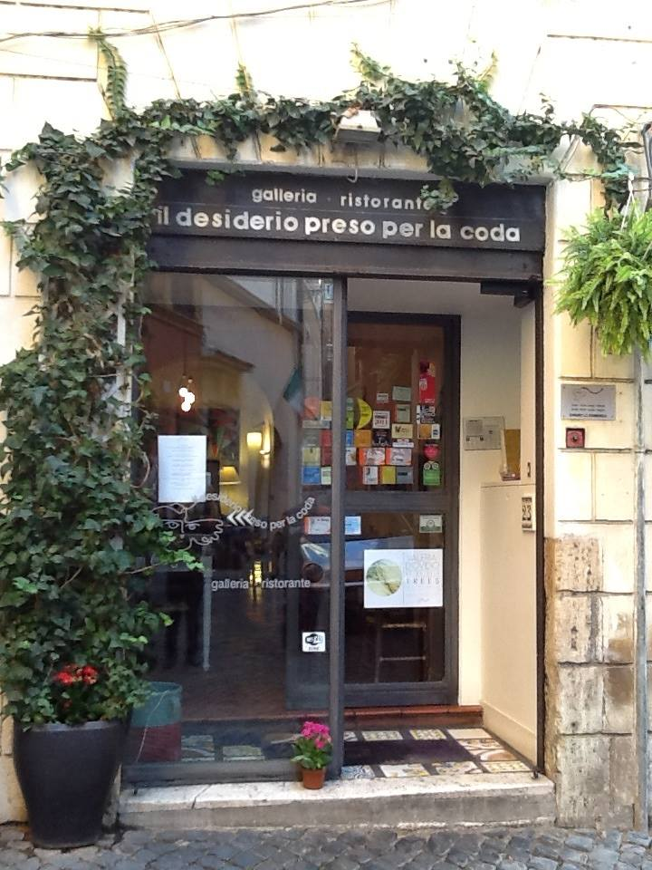 Il Desiderio preso per la Coda restaurant gallery in Rome Italy