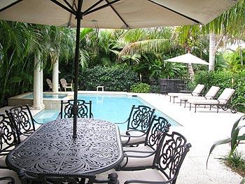 Salt Water Swimming Pool At Casa Grandview Luxury Resort Als Palm Beach Florida